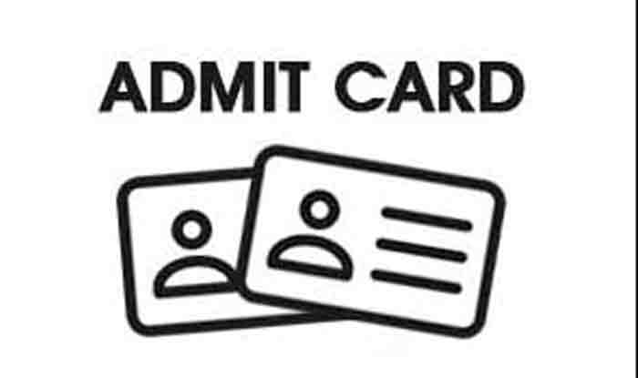 UOK B.A B.Com B.Sc 1st/2nd/3rd Year Exam Admit Card
