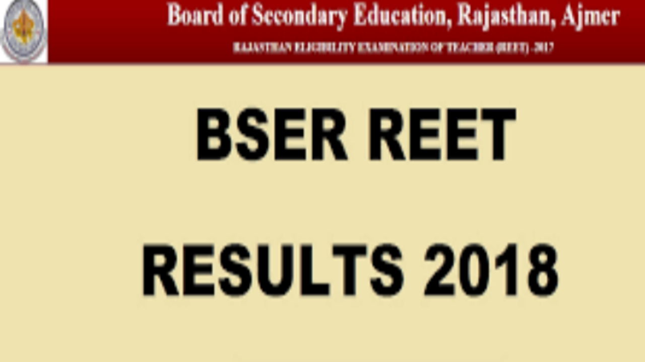 REET Level 2 Cut off 2018 Subject Wise Sc,St,Gen-Golden Era