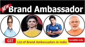 Brand Ambassador Of India 2018 In Hindi Brand Ambassador List 2018 Pdf