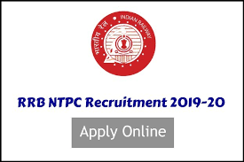 RRB NTPC 2019 -APPLY Online Application