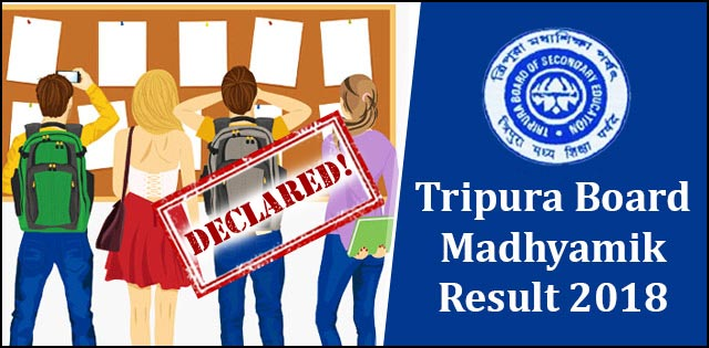 TBSE HS/10th Result 2019