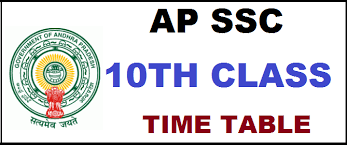 AP SSC Supplementary Time Table 2019