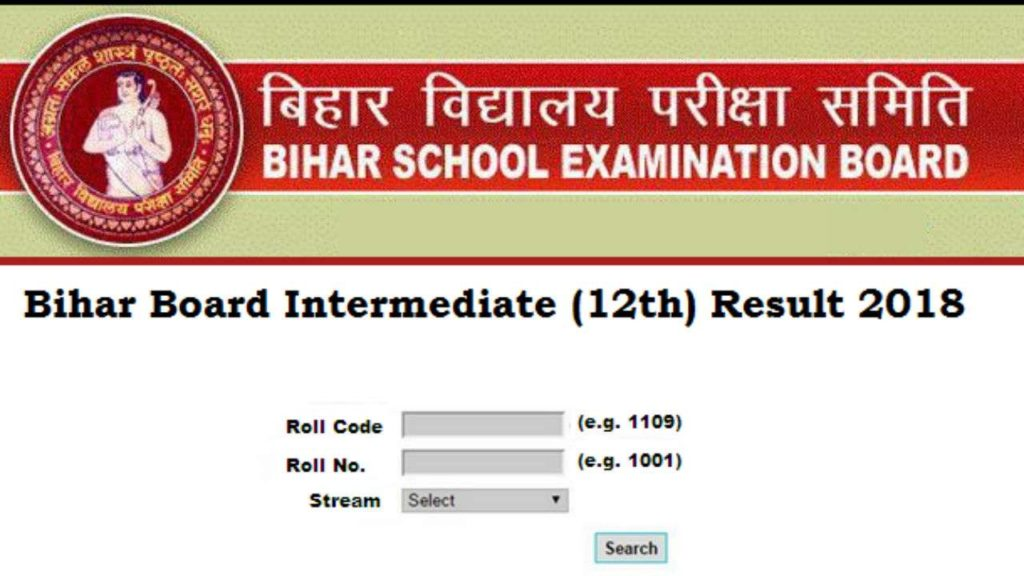 Bihar Board 12th Results 2020