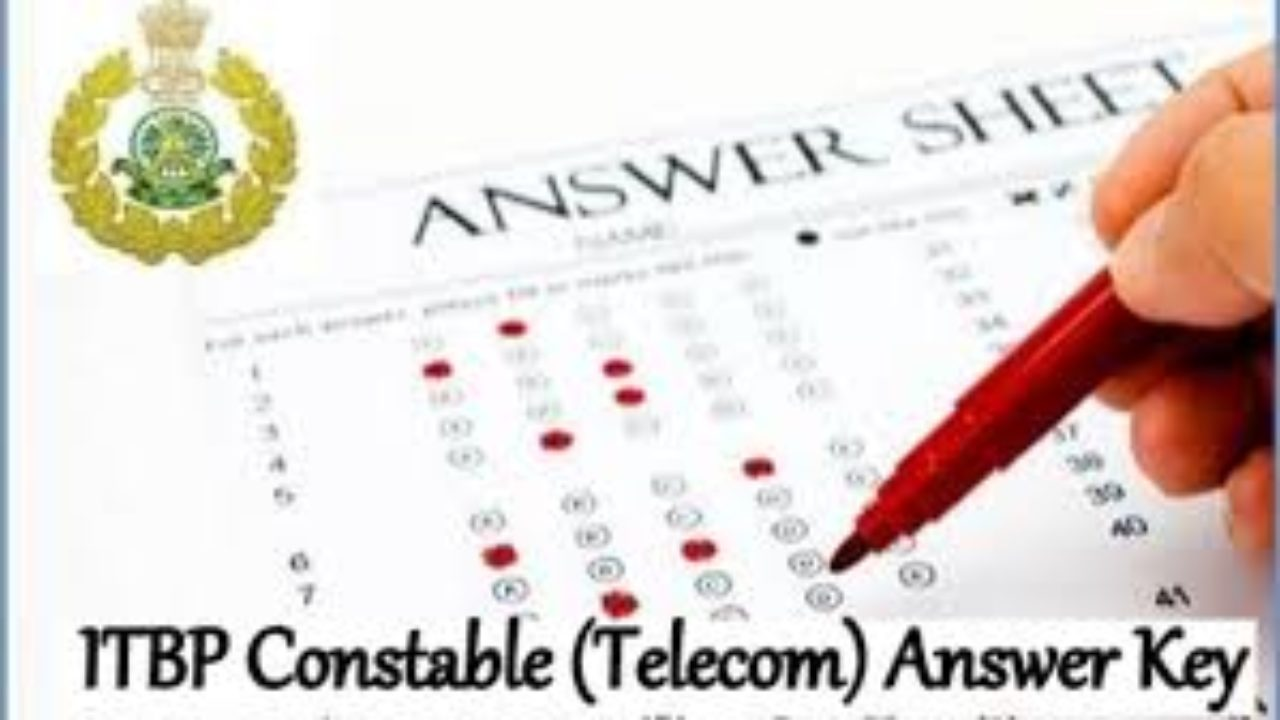ITBP Constable Telecom Answer Key 2019 -24th March Paper Cutoff Mark