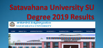 Satavahana University Degree Results 2019 Check SU Degree Result Semester wise Available Below