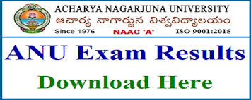 ANU UG 2nd, 4th, 6th Sem March/April 2019 Exam Results