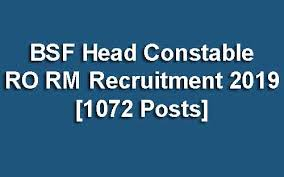 BSF HC RO & RM Syllabus Exam Pattern 2019 -Full Overview