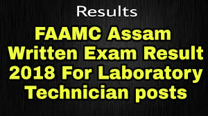 FAAMC Barpeta Result Download Laboratory Attendant Cut Off Marks