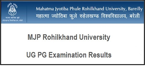 MJPRU 3rd Year Results 2019