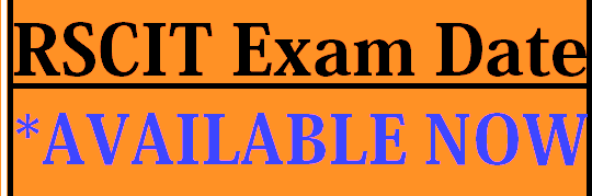 RSCIT new Exam Date 2019
