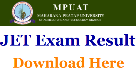 Check Rajasthan JET Result & Merit List 2019 – Available on may 28th