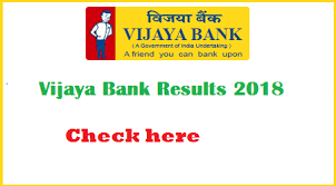 Vijaya Bank Result 2019- Check vijaya bank Peons & Sweepers Cut-Off, Merit List