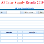 AP Inter Supply Results 2019, BIEAP 1st Year & 2nd Year BETTERMENT Result @bieap.gov.in