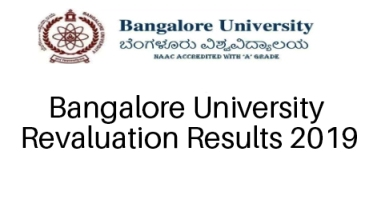 Bangalore University Revaluation Results 2019