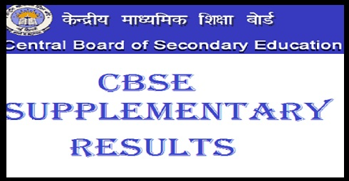 CBSE Supplementary Result 2019 -10th 12th