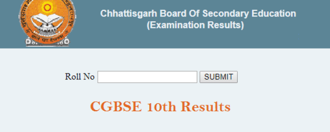 CG 10th Results 2019 Date -घोषित CGBSE Xth Result Name Wise Kab Aayega