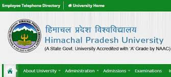 HP university 5th Sem Results 2019 -BA BSc BCom