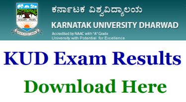 Karnataka University Dharwad Results 2019 -KUD BA Bsc 1st 2nd 3rd Year