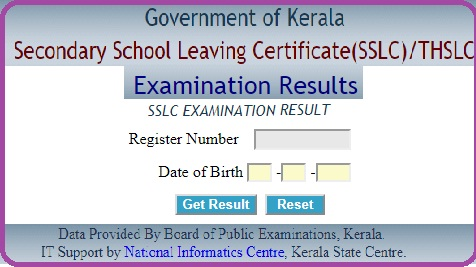 Kerala SSLC Results 2019 School Wise