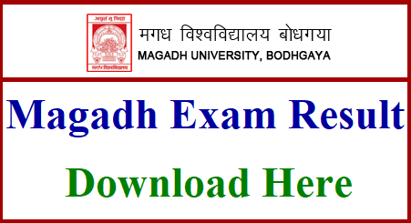 Magadh University B.Ed Result