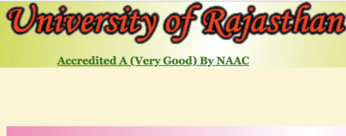Rajasthan University Results 2019