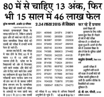 rajeduboard.rajasthan.gov.in 10th result 2019