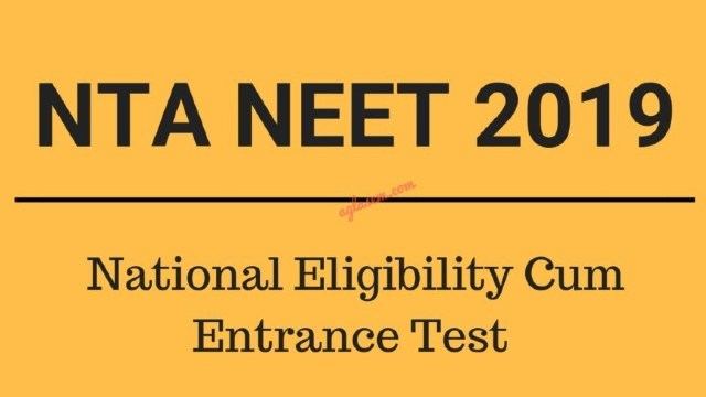 NEET 2019 Counselling Dates