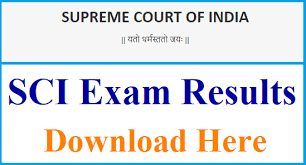 Supreme Court Jr. Chamber /Court Attendant Results 2019