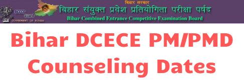 Bihar Paramedical Counseling 2019 Date
