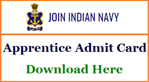 Join Indian Navy SSR AA MR Hall Ticket