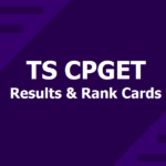 TS CPGET Result 2019, Check OU PGCET Entrance Results ,Qualifying Marks & Cutoff
