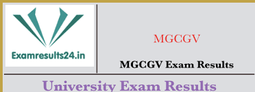MGCGV Distance 1/2/3/Final Year Result