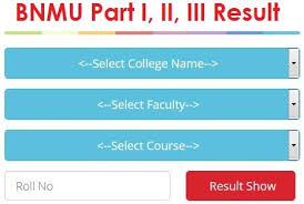 BNMU Result Part 1 2 3 Final Year 2019-20