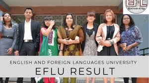 EFL University Result