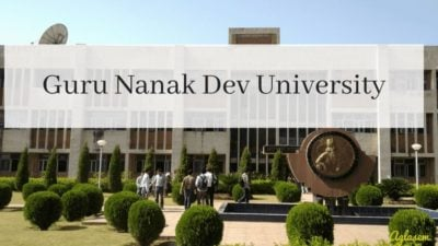 Guru Nanak Dev University Admit Card