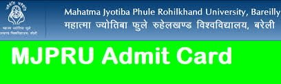 Rohilkhand University Admit Card 2020
