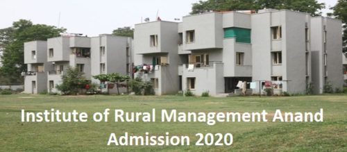 Institute of Rural Management Anand Result