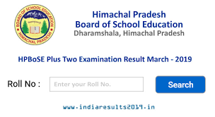 HP Board Dharamshala 12th Result