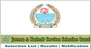 JKSSB Class 4th Syllabus