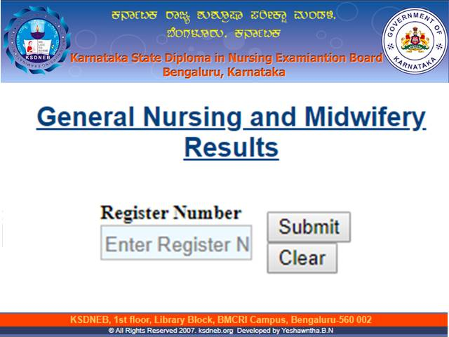 Nursing Council GNM Result