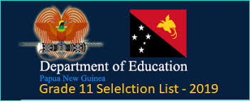 Grade 11 Selection List For Secondary Schools