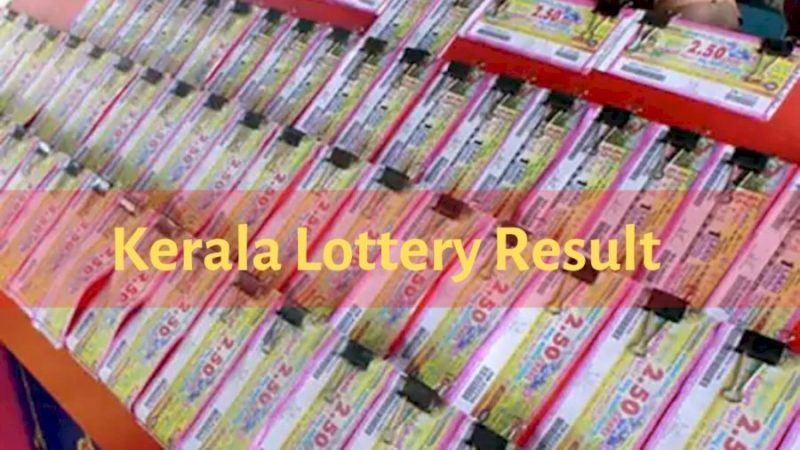 Kerala State Lottery Result Today