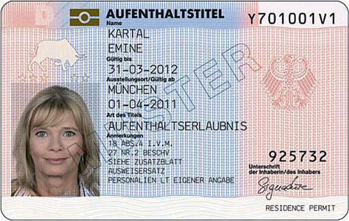 Residence permit Germany